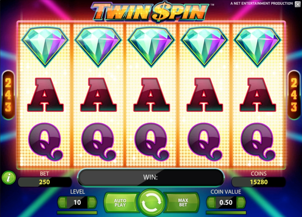 Twin Spin and 243 ways to win! - Mobil6000