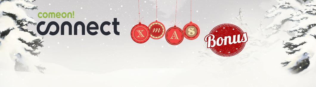 ComeOn Connect Xmas bonus