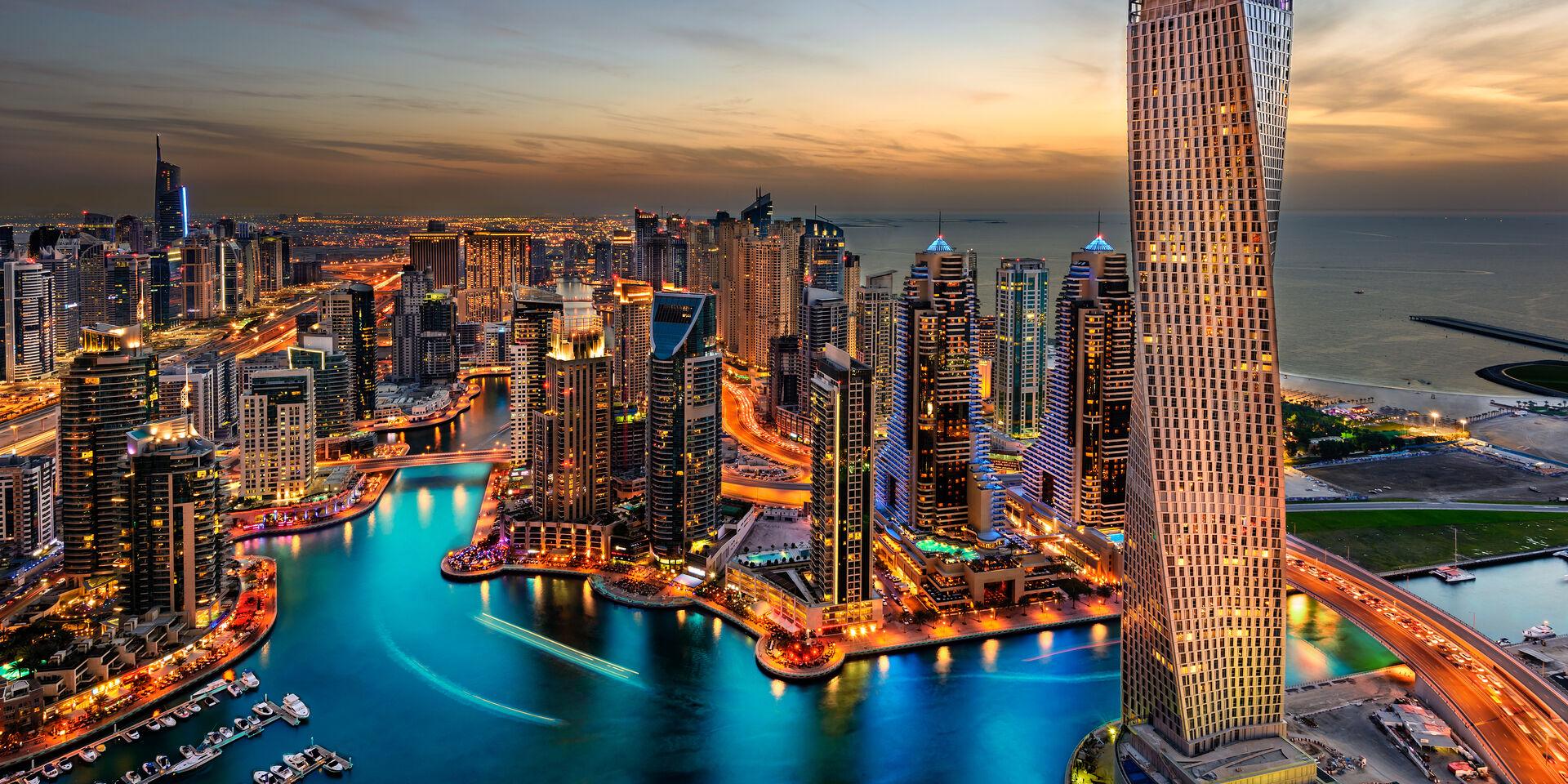 Dubai and Phuket